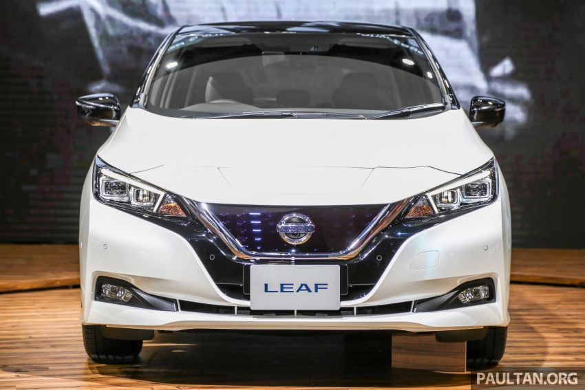 KLIMS18: Nissan Leaf previewed – mid-2019 launch Image #892525