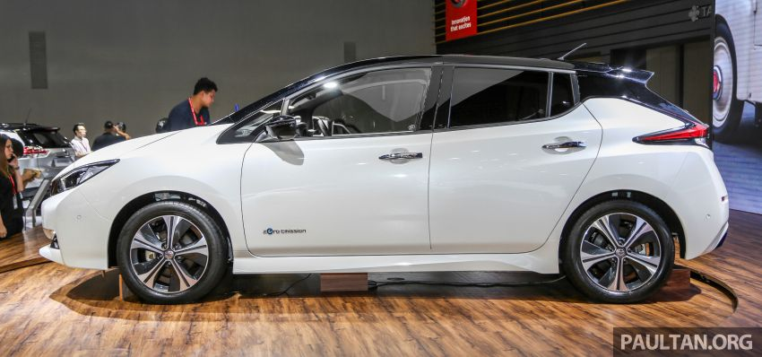 KLIMS18: Nissan Leaf previewed – mid-2019 launch Image #892527
