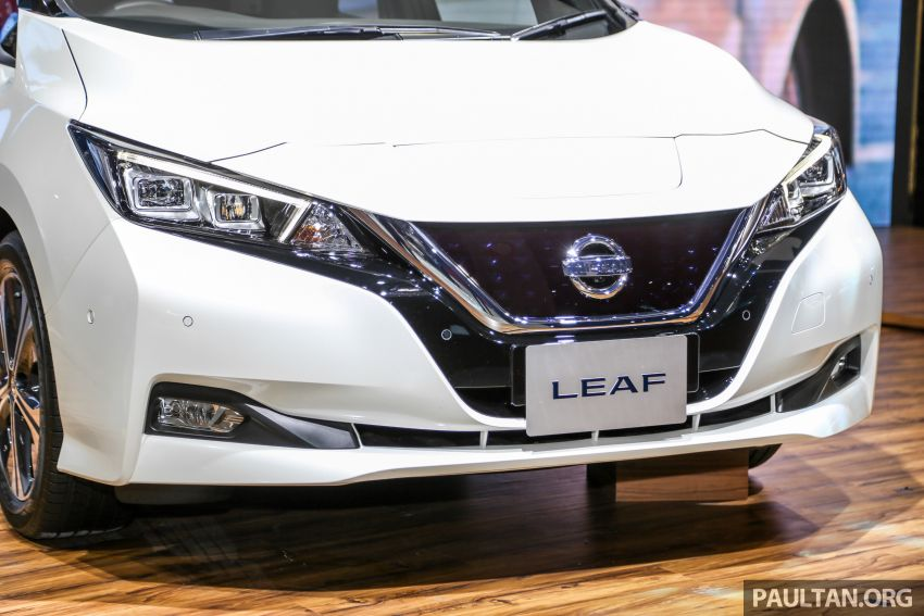 KLIMS18: Nissan Leaf previewed – mid-2019 launch Image #892528