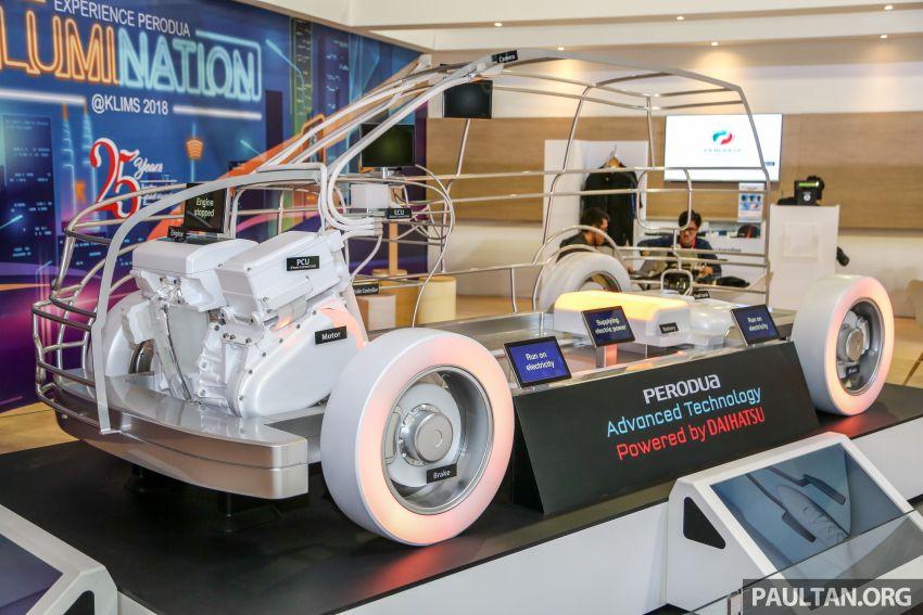 KLIMS18: Perodua hybrid technology gets showcased Image #891896