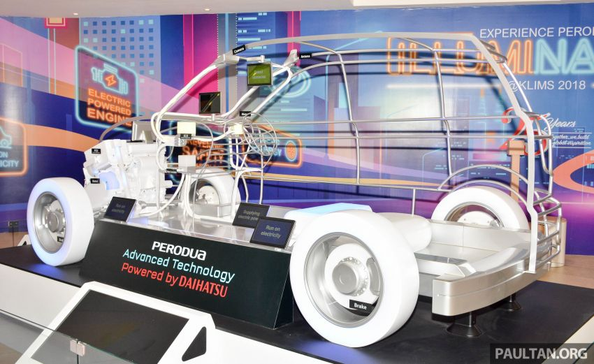 KLIMS18: Perodua hybrid technology gets showcased Image #891990