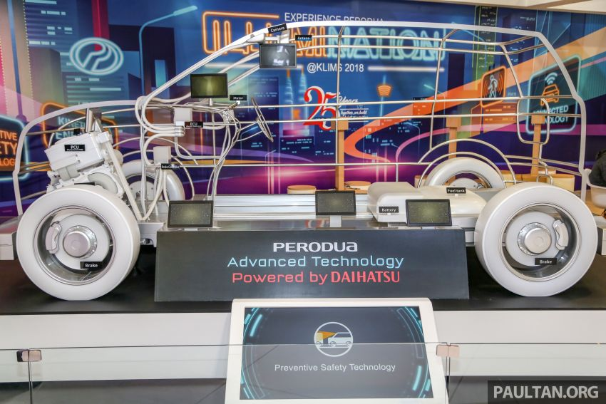 KLIMS18: Perodua hybrid technology gets showcased Image #891899