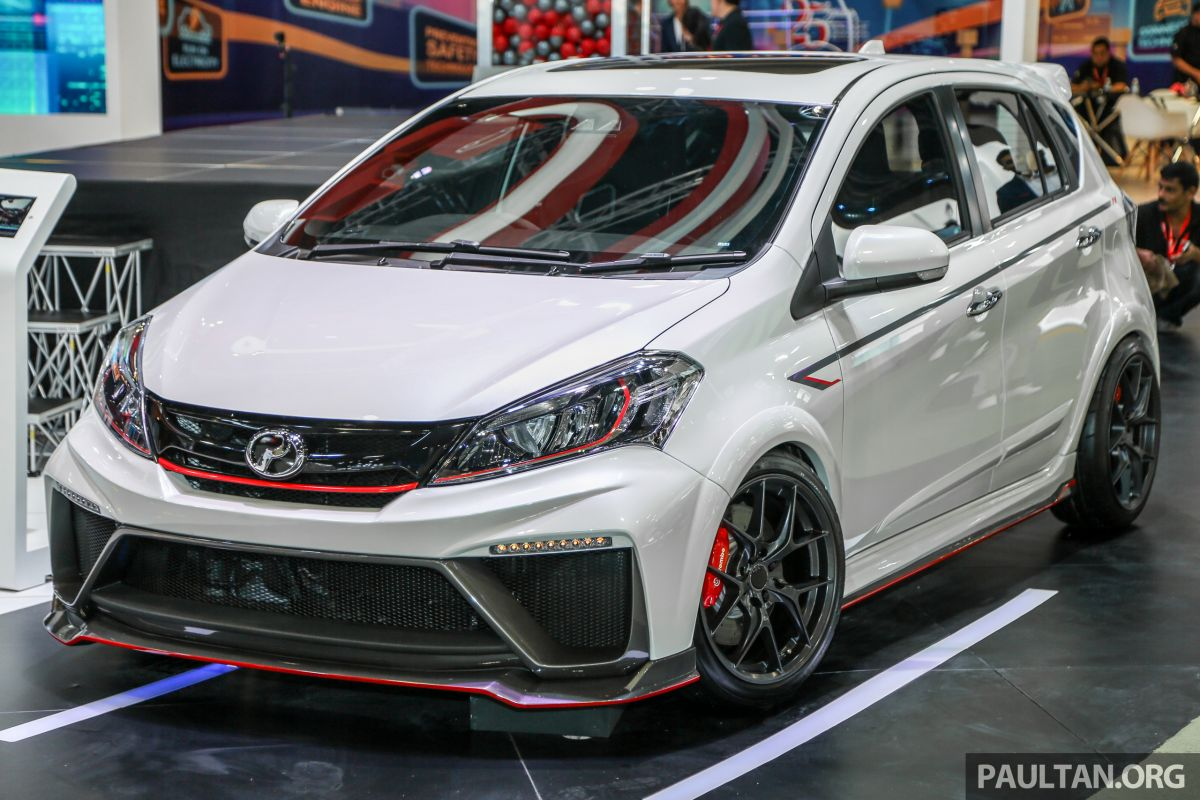 KLIMS18: Perodua Myvi GT - sporty hot hatch concept
