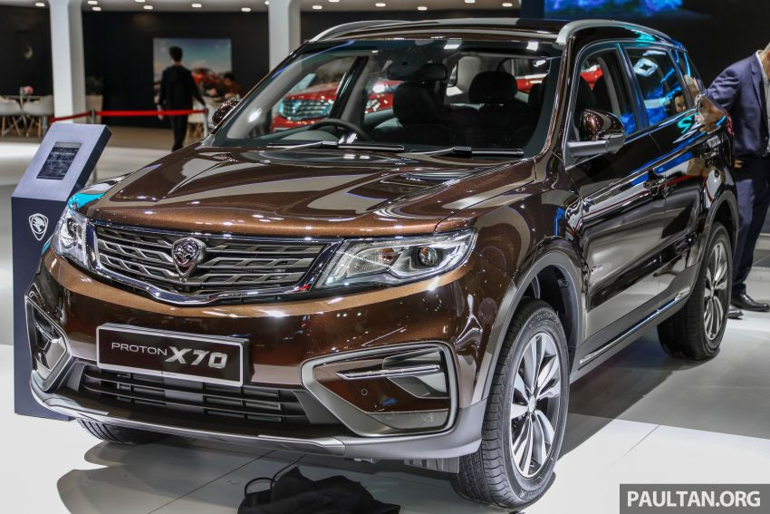 KLIMS18: Proton X70 SUV full preview, inside and out Image #891570