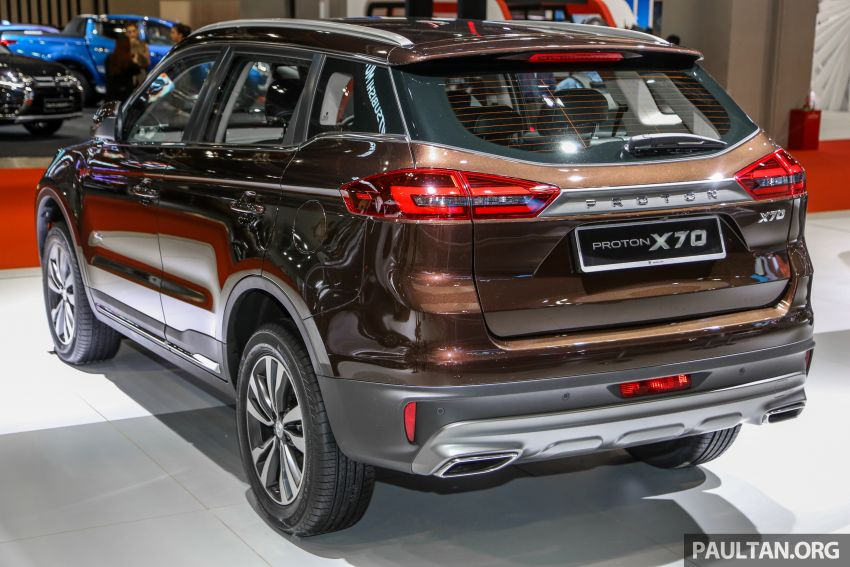 KLIMS18: Proton X70 SUV full preview, inside and out Image #891572