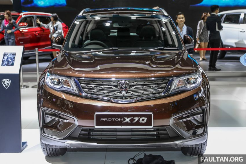 KLIMS18: Proton X70 SUV full preview, inside and out Image #891574