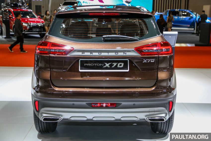 KLIMS18: Proton X70 SUV full preview, inside and out Image #891576