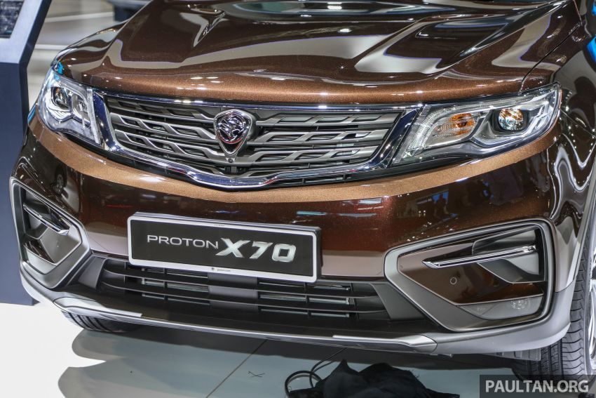 KLIMS18: Proton X70 SUV full preview, inside and out Image #891578