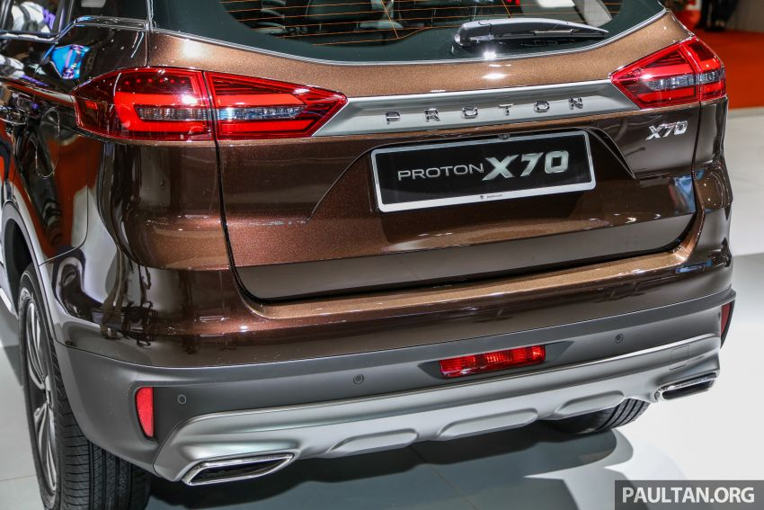 KLIMS18: Proton X70 SUV full preview, inside and out Image #891582