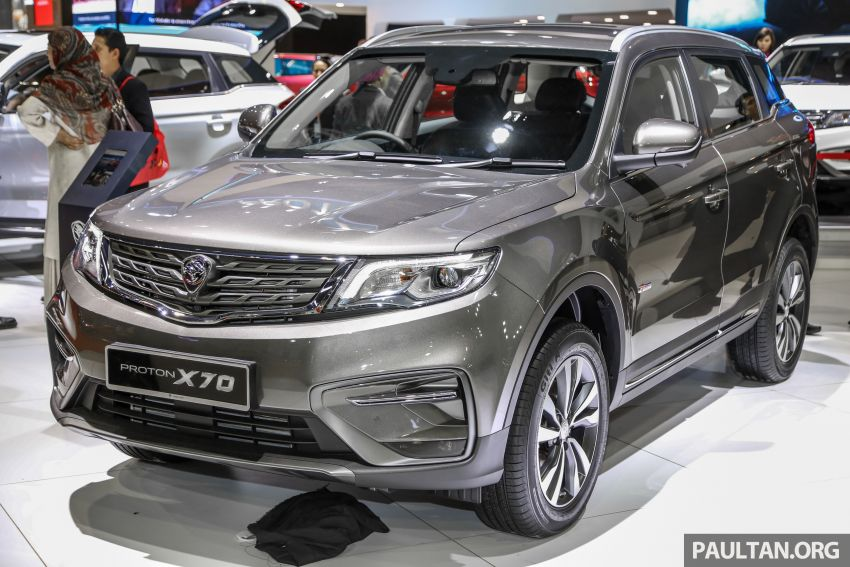 KLIMS18: Proton X70 SUV full preview, inside and out Image #891584