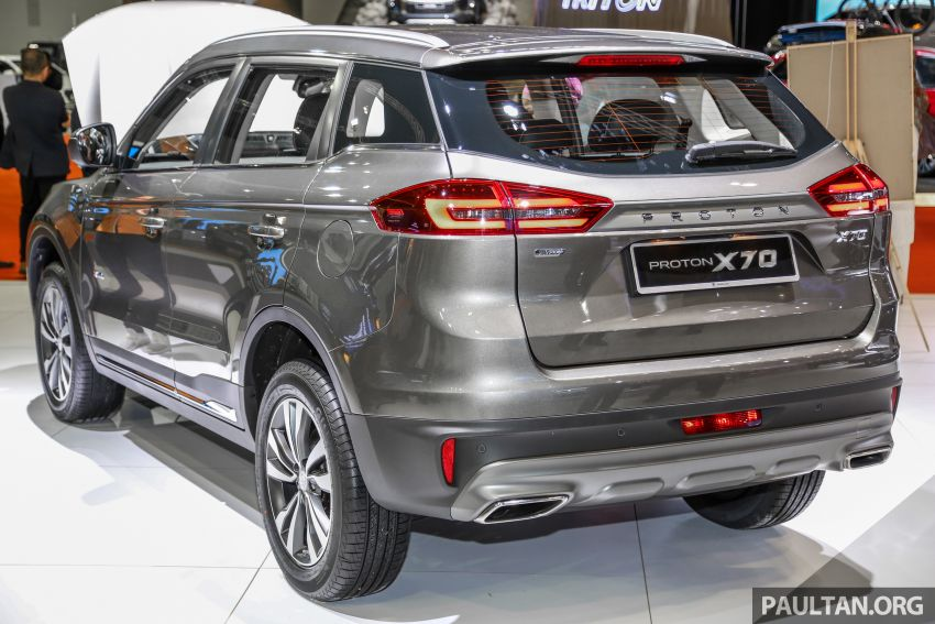 KLIMS18: Proton X70 SUV full preview, inside and out Image #891586