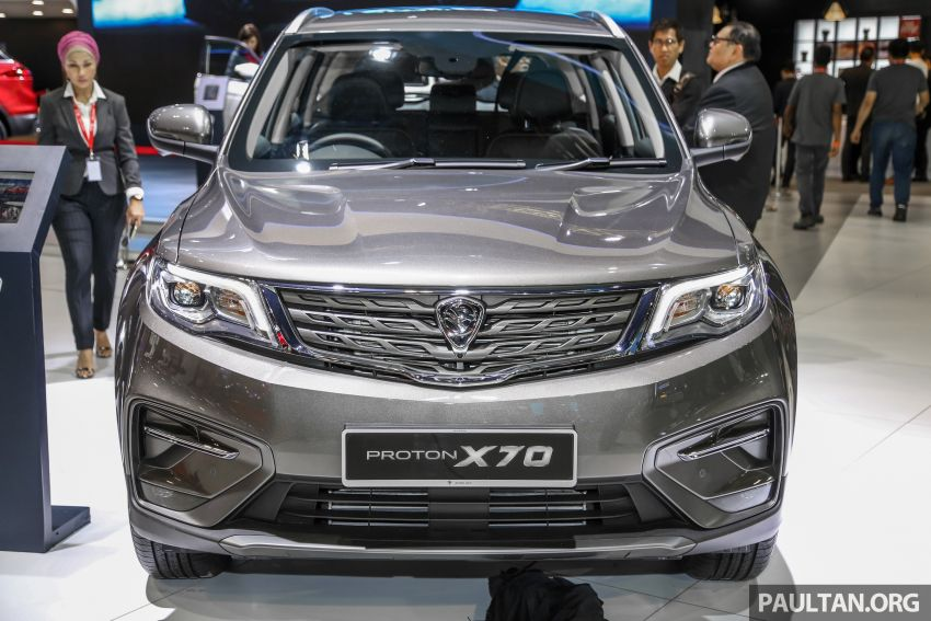 KLIMS18: Proton X70 SUV full preview, inside and out Image #891587