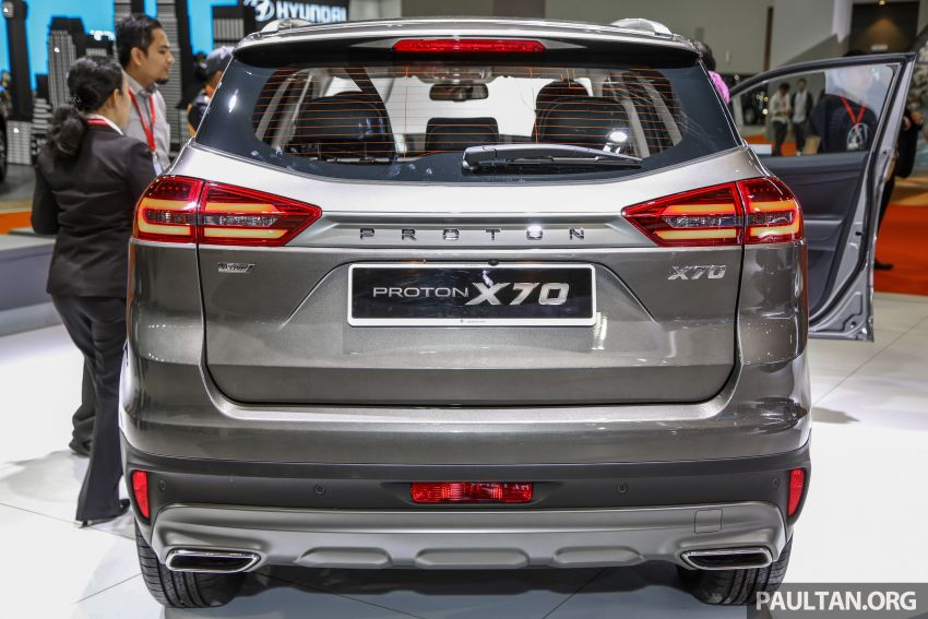 KLIMS18: Proton X70 SUV full preview, inside and out Image #891588