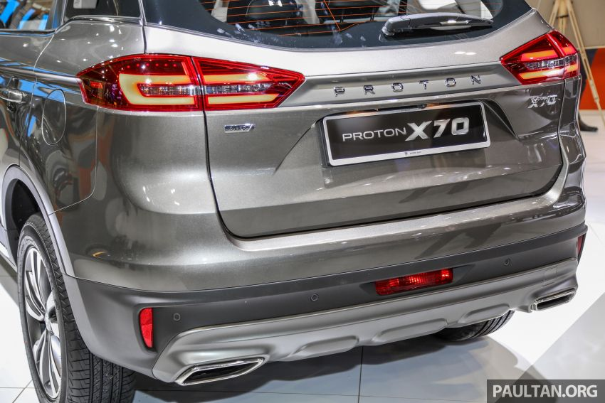 KLIMS18: Proton X70 SUV full preview, inside and out Image #891590