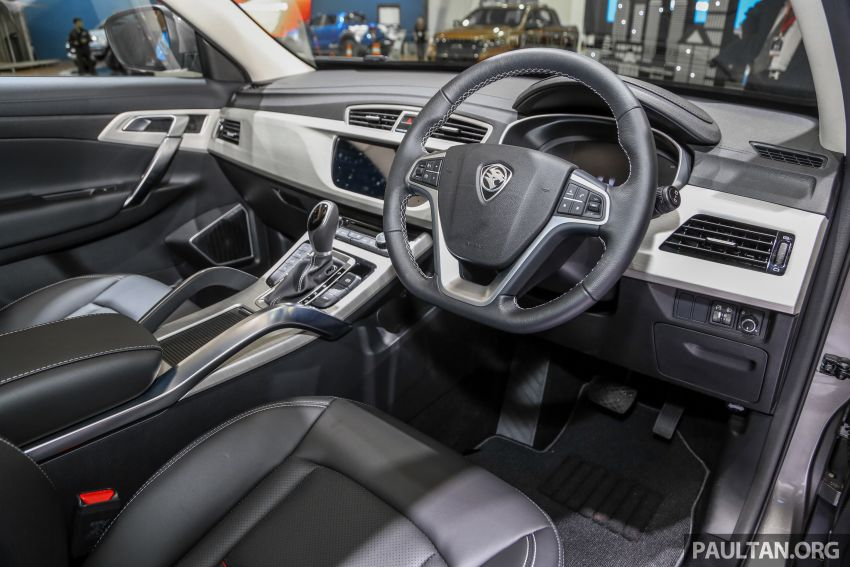 KLIMS18: Proton X70 SUV full preview, inside and out Image #891591