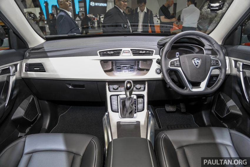 KLIMS18: Proton X70 SUV full preview, inside and out Image #891592