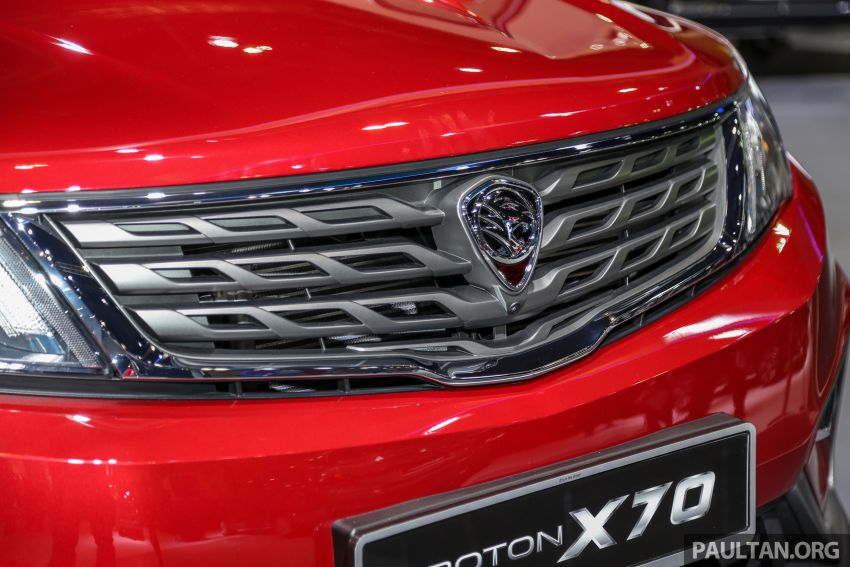 KLIMS18: Proton X70 SUV full preview, inside and out Image #891604