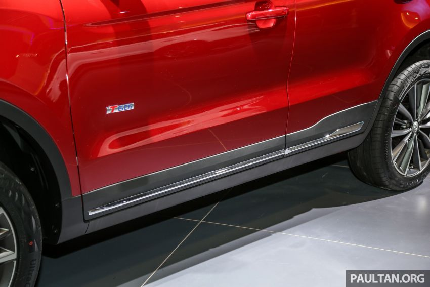 KLIMS18: Proton X70 SUV full preview, inside and out Image #891610