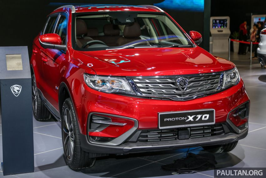 KLIMS18: Proton X70 SUV full preview, inside and out Image #891595