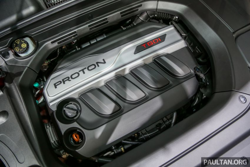 KLIMS18: Proton X70 SUV full preview, inside and out Image #891620