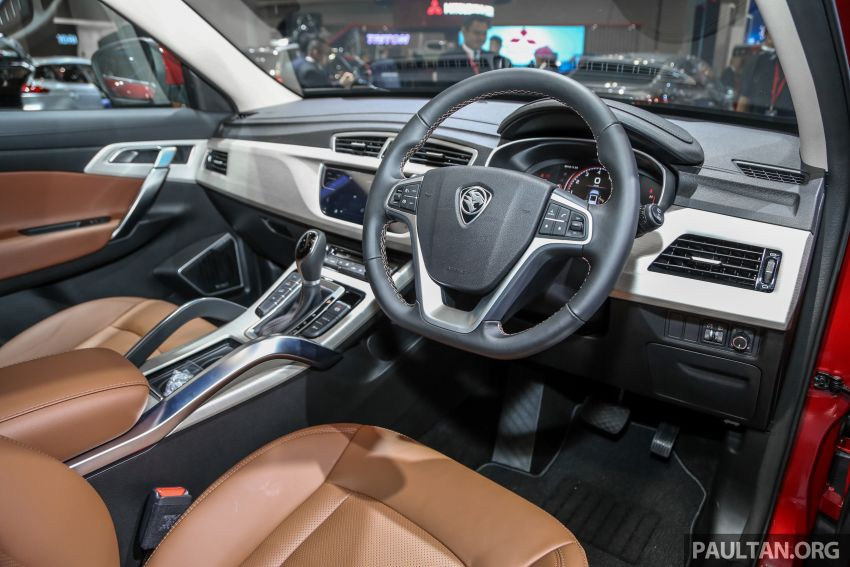 KLIMS18: Proton X70 SUV full preview, inside and out Image #891621