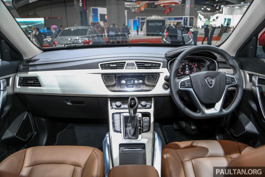 KLIMS18: Proton X70 SUV full preview, inside and out Image #891622