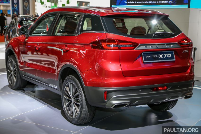KLIMS18: Proton X70 SUV full preview, inside and out Image #891596