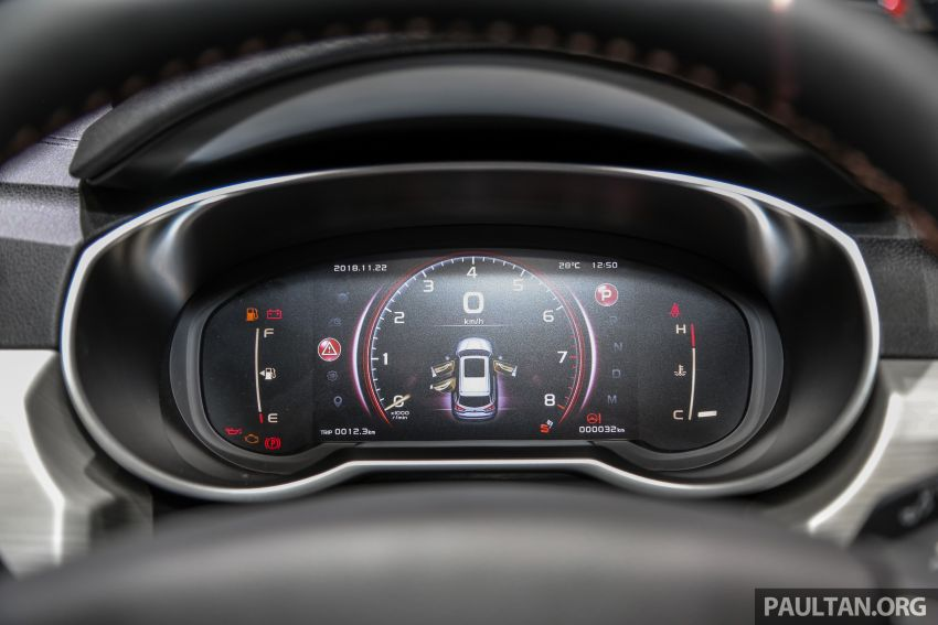 KLIMS18: Proton X70 SUV full preview, inside and out Image #891624