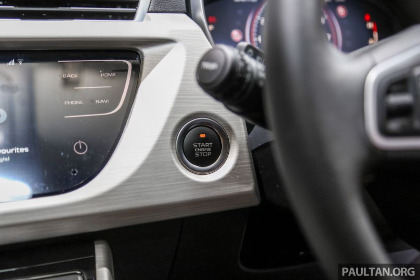 KLIMS18: Proton X70 SUV full preview, inside and out Image #891628