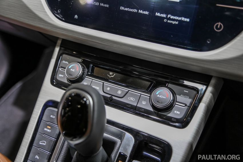 KLIMS18: Proton X70 SUV full preview, inside and out Image #891630