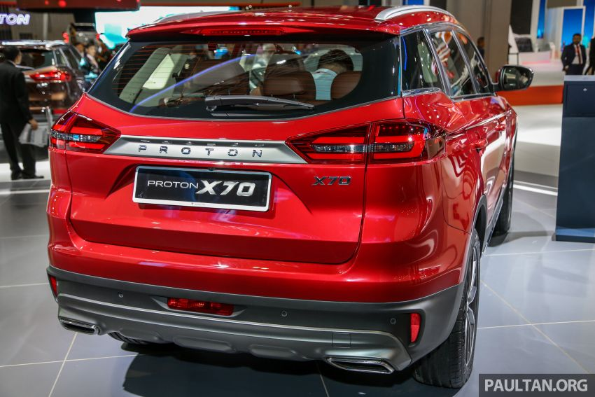KLIMS18: Proton X70 SUV full preview, inside and out Image #891597