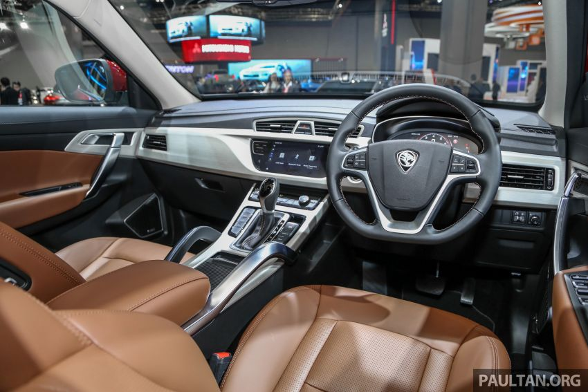 KLIMS18: Proton X70 SUV full preview, inside and out Image #891638