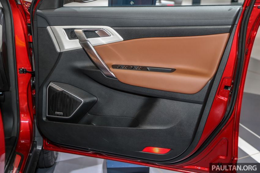 KLIMS18: Proton X70 SUV full preview, inside and out Image #891641