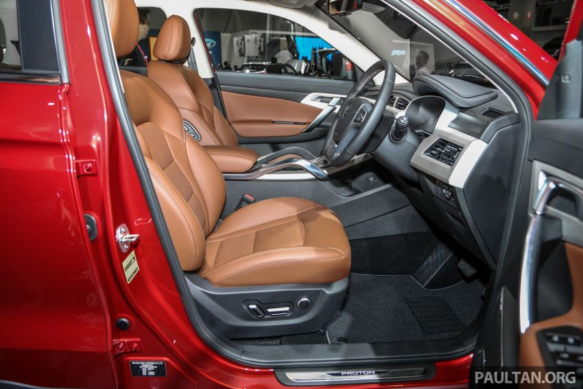 KLIMS18: Proton X70 SUV full preview, inside and out Image #891645