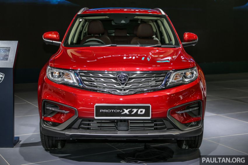 KLIMS18: Proton X70 SUV full preview, inside and out Image #891598