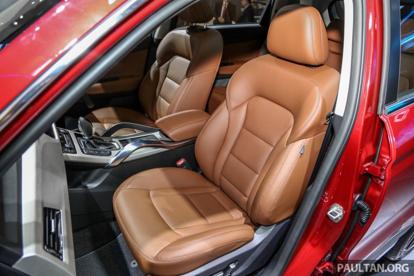KLIMS18: Proton X70 SUV full preview, inside and out Image #891647