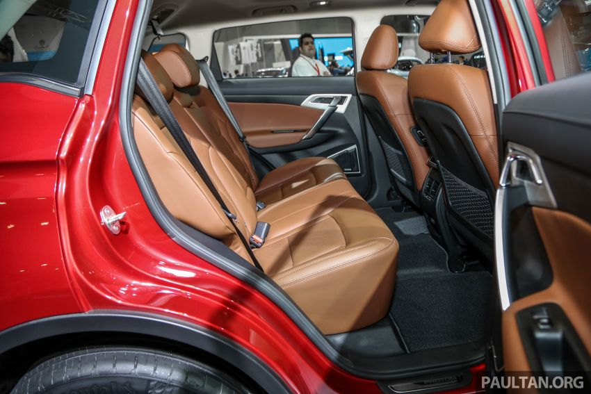 KLIMS18: Proton X70 SUV full preview, inside and out Image #891652