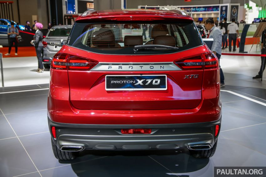 KLIMS18: Proton X70 SUV full preview, inside and out Image #891599