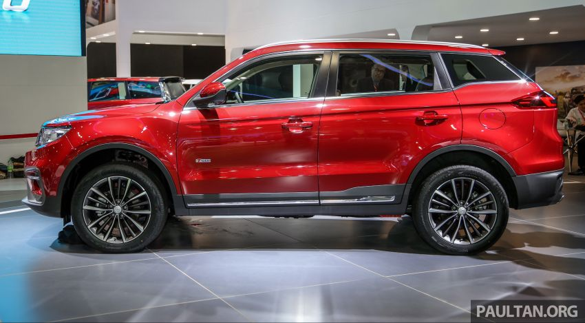 KLIMS18: Proton X70 SUV full preview, inside and out Image #891600