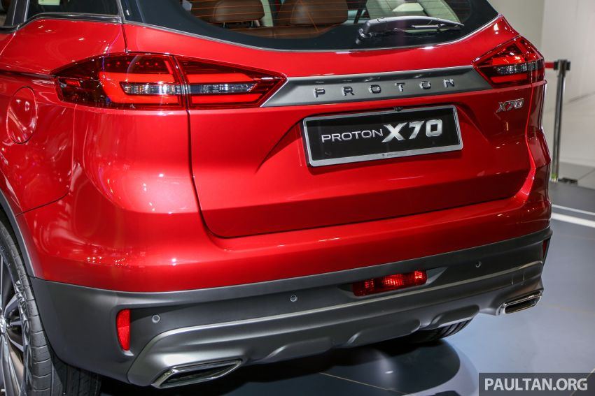 KLIMS18: Proton X70 SUV full preview, inside and out Image #891601