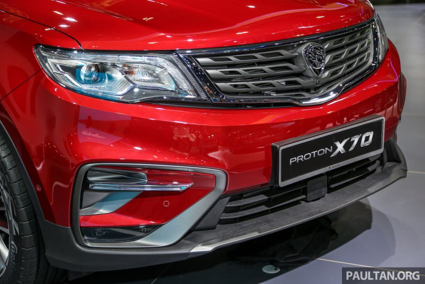 KLIMS18: Proton X70 SUV full preview, inside and out Image #891602