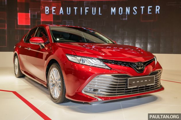Klims18 New Toyota Camry Launched 2 5v Rm190k