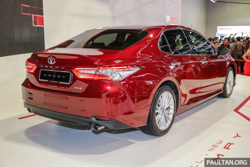 KLIMS18: New Toyota Camry launched – 2.5V, RM190k Image #891196