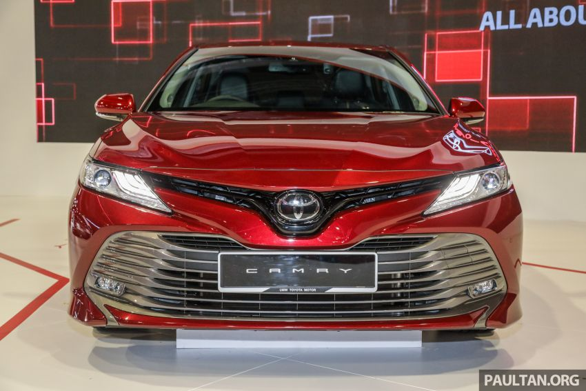 KLIMS18: New Toyota Camry launched – 2.5V, RM190k Image #891198