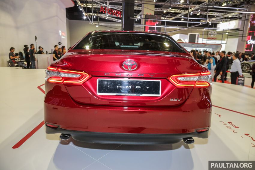 KLIMS18: New Toyota Camry launched – 2.5V, RM190k Image #891199