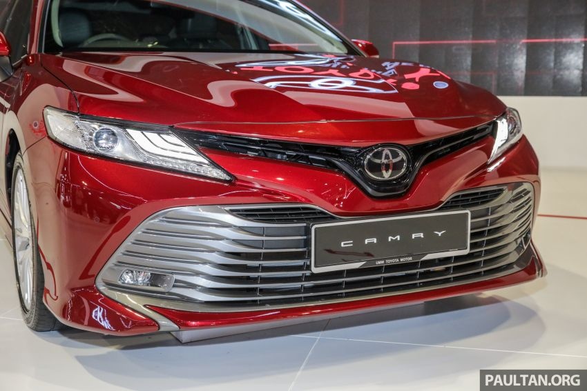 KLIMS18: New Toyota Camry launched – 2.5V, RM190k Image #891200