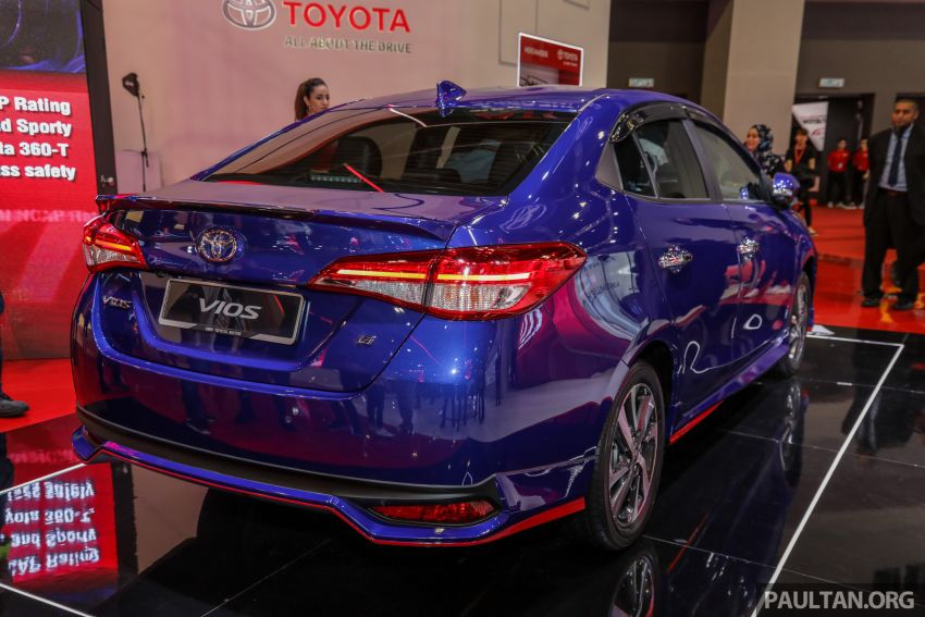 KLIMS18: New Toyota Vios previewed, from RM77k est Image #891249