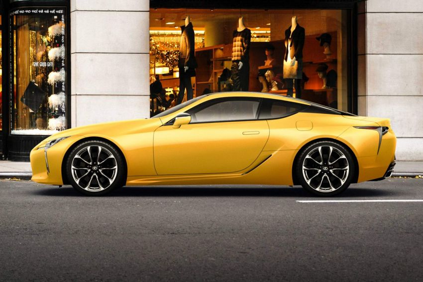 "Lexus LC ""Luster Yellow"" – limited edition for Japan Image #882450"