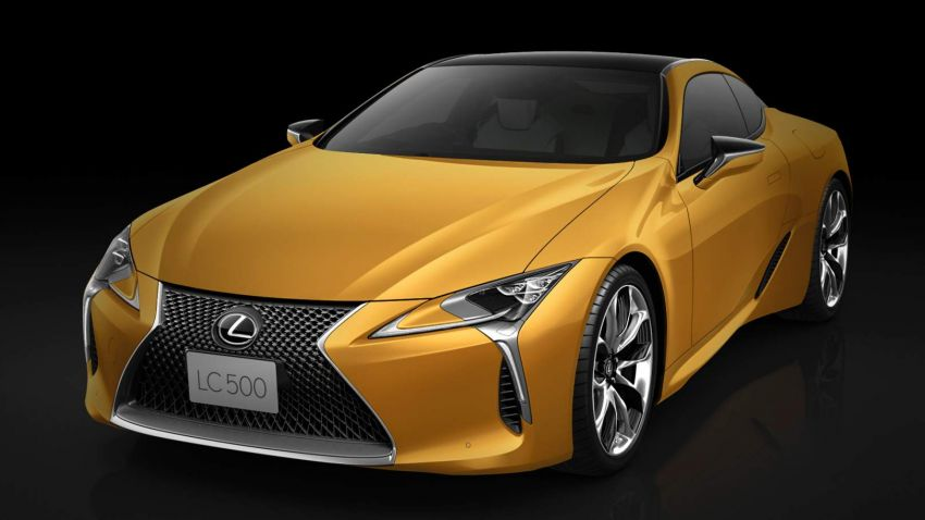 "Lexus LC ""Luster Yellow"" – limited edition for Japan Image #882451"