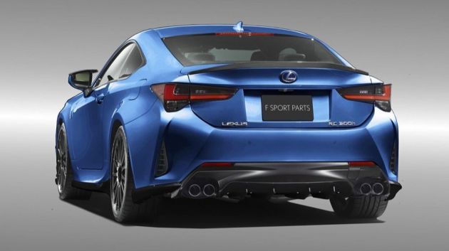 2019 Lexus Rc F Receives Trd Accessories In Japan